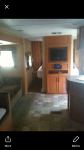Travel Trailer 27ft with 13ft slide and Bunkhouse