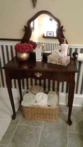 French Provincial Vanity Table