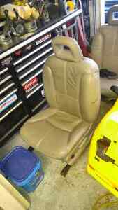 Pair of electric leather seats for hotrod project