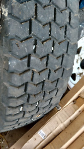 11r 22.5 heavy truck Tires and  22 x 8.25 Dayton style Rims