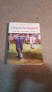 Lifespan development psych textbook