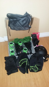 Rollerblade Package ( Never worn)