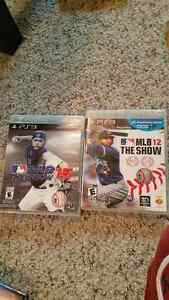 Playstation 3, two game lot MLB The Show