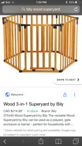 Bily Wood Superyard + 6 extra panels!