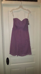 Strapless Dress in Size 4 For Sale!