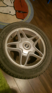 4x Mini Cooper rims and winter tires 195 55 R16
