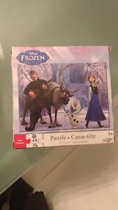 Puzzles enfants 1$ chaque