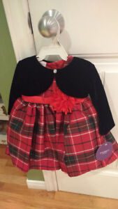Christmas dress NWT 12 months