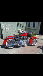 1992 Custom FLH Harley-Davidson. Excellent Condition
