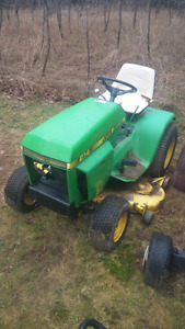Looking for parts for my John Deere 214