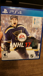 NHL 17 ON PS4 WITH BILL 15$