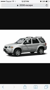 Wanted Ford escape