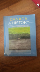 Canada a History 3rd ed. Textbook and Online