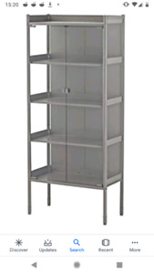 Ikea indoor outdoor greenhouse metal shelf bookcase