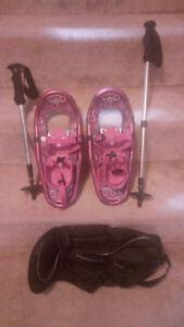 Girls LL Bean Snowshoes