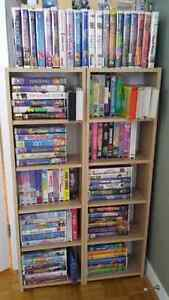 """177 Childrens/Youth/Family VHS Cassettes with a 21""""TV & VCR"""
