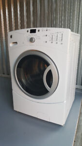 GE FRONT LOAD Washer and Electric Dryer Set White