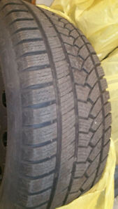 Winter Tires Rims 235/55R17 5 Bolt