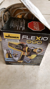 flexio 990 Wagner paint sprayer
