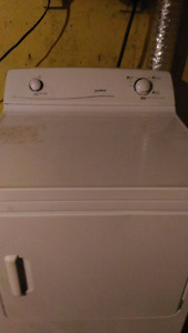 Moffat heavy duty matching washer and dryer