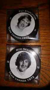 1972 SUMMIT SERIES PUCKS NEVER BEEN OUT OF PACKAGE!!! London Ontario image 1