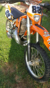 2005 KTM250EXC(UNREAL SHAPE)
