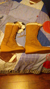 Women's Suede spring/fall boots