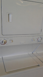 "Frigidaire Stackable Stacked White Front Load 27 "" Dryer"