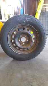 Winter tires and rims $350.00 obo