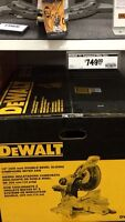 Dewalt 12inch Double Bevel sliding compound mitre saw