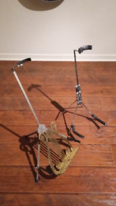 Supports guitare / Guitar stands