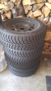 Winter claw winter tires