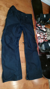 BURTON CARGO SNOW PANTS - SIG FIT WITH VELCRO TIGHTENING WAIST