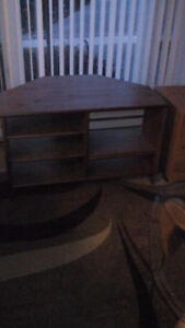 Table and TV Stand for sale.