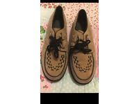 New Look light pink creepers shoes size 6
