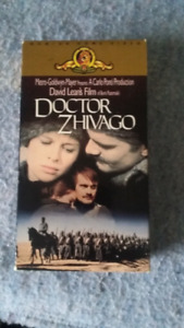 Doctor Zhivago VHS movie