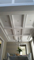Crown/ wainscotting /coffered cielings/doors/supply/install