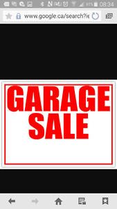 Garage Sale 8705 128 ave