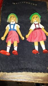 WOOD DOLLS MADE IN POLAND