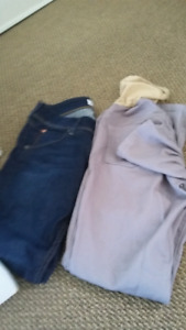XS and S size Maternity jeans