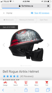 New Bell Rogue Airtrix Helmet small