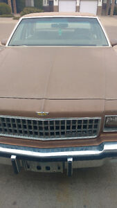 1986 Chevrolet Caprice Brown Other