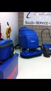 Floor scrubber autoscrubber