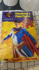 SUPERMAN JIGSAW AND BOOK