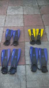 US Divers Unisex Snorkel Fins