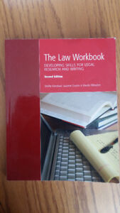 Legal Research and Writing , The Law Workbook
