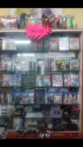A LOT OF NEW AND VINTAGE VIDEO GAMES AT REX&CO 30%OFF