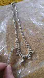 Neckless and hair clip