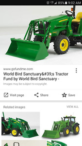 Looking for a 70, 300, or 419 JD loader