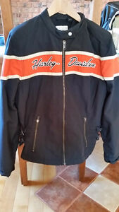 Woman's Harley Nylon motorcycle Jacket